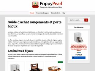 Capture du site http://www.poppypearl.fr/