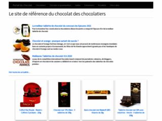 Capture du site http://www.portail-du-chocolat.fr