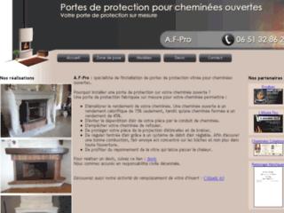 Capture du site http://www.porte-cheminee.fr