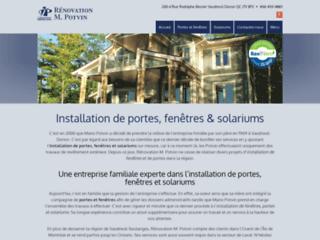 Installation de solarium à Vaudreuil
