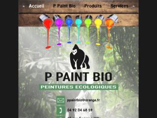 Le site officiel P paint bio