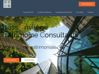 Détails : Pass Privilège Patrimoine Consultants : une structure de gestion de patrimoine
