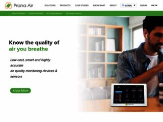 Pranaair - Clean Air Solutions Provider   Air Purifiers