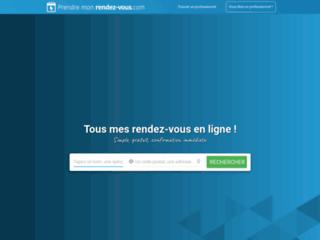 Capture du site http://prendre-mon-rdv.com