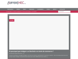 prepa-hec.org - Informations et cours gratuits pour prépa HE