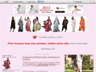 Boutique de robes occidentales et orientales de mariage et soirées - Un mariage idyllique