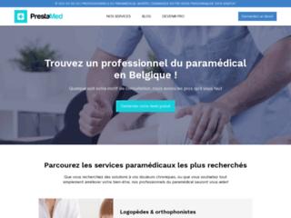 Détails : PrestaMed, site des professionnels du paramédical en Belgique