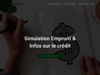 Simulateur de crédits en ligne