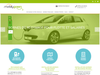 La borne de recharge pour véhicules électriques avec MobilyGreen