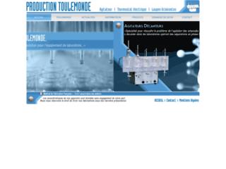 Production d'appareils de laboratoires sur http://www.prod-toulemonde.com
