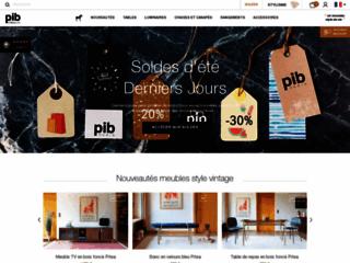 Détails : meuble industriel