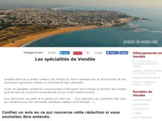 produits du terroir de Vendée