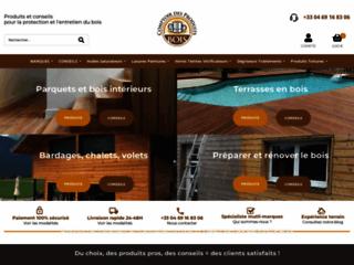 Capture du site http://www.produits-traitement-bois.com/