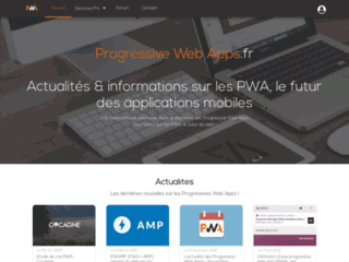 Progressive Web Apps.fr