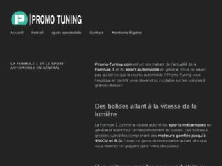 Groupe Promo Tuning : équipement et accessoires