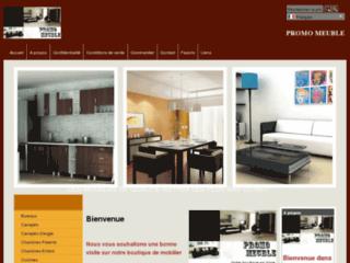 Capture du site http://www.promomeuble.com