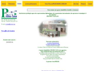 Immobilier  � Tana : Villa, maison et appartement