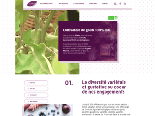 fruits et légumes biologiques de Provence