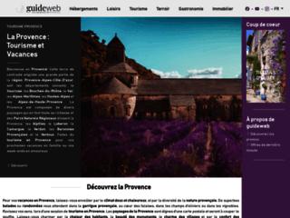 Guide du tourisme en Provence