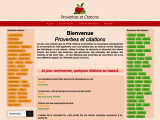 Détails : Proverbes et citations du monde francophone