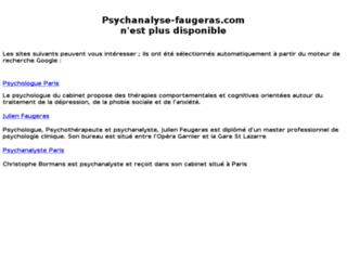 Psychologue Paris sur http://www.psychanalyse-faugeras.com