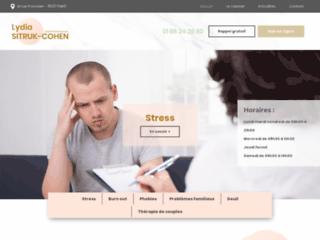 Psychothérapeute Sitruk à Paris 17