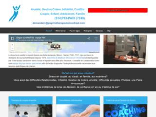 Détails : Psychotherapeute à Montréal
