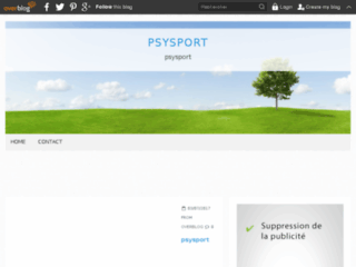 Blog de la psychologie du sport sur http://psysport.over-blog.com
