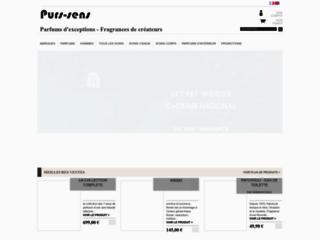 Boutique en ligne dédiée aux parfums de créateurs