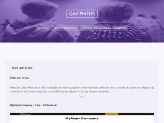 Cours de mathématiques à domicile sur Metz et Nancy