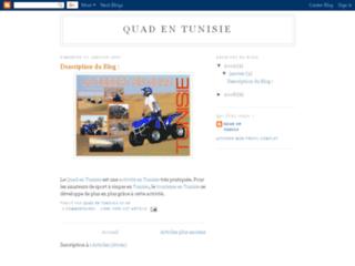 Quad en Tunisie