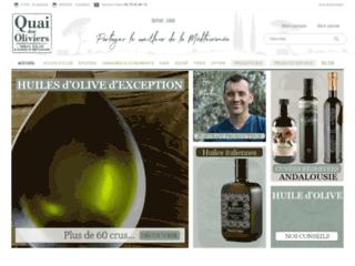 huiles d'olive de Provence et d'Italie