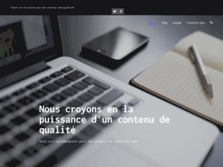 Qualicontenu : trouvez votre rédacteur web