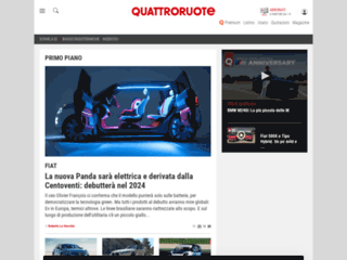 Quattroruote.it - Tutto su auto e motori: news, listino auto nuove, recensioni