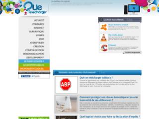 Capture du site http://www.quetelecharger.com/