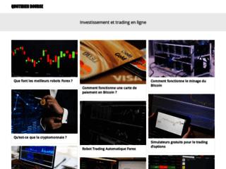 Capture du site http://www.quotidien-bourse.com/