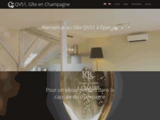 Week-end oenologique dans la Marne: QV51 gîte à Epernay