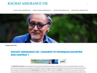 Détails : Rachat assurance vie