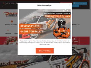 Stage pilotage Rallye en ligne