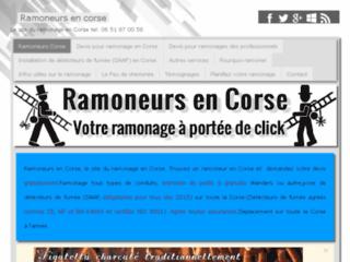 Ramoneurs en Corse