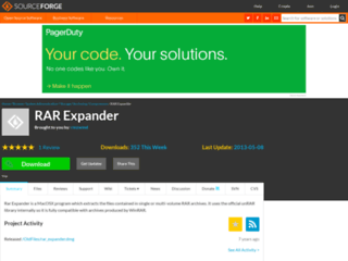 Info: Scheda e opinioni degli utenti : RAR Expander - Estrazione archivi .rar singoli e multipli su Mac OS (OSX)