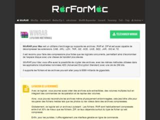 Télécharger WinRaR pour MAC