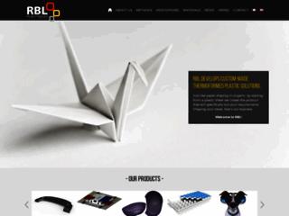 Capture du site http://www.rbl.fr