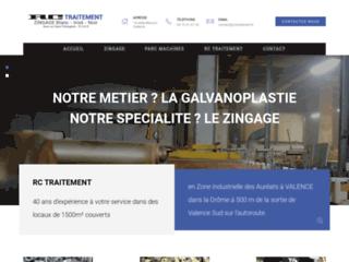 Traitement de surface au zinc en Drôme-Ardèche - RC Traitement