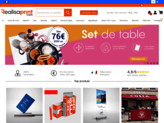 Détails : http://www.realisaprint.com