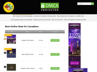 Play best online slots canada casinos