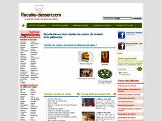 Site de recettes de desserts