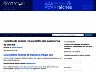 classement de blog de cuisine