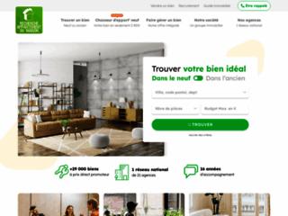 Aperçu du site Recherche-appartement-ou-maison.com