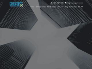 Détails : Recovery Science Corporation, votre fournisseur de programmes de surveillance